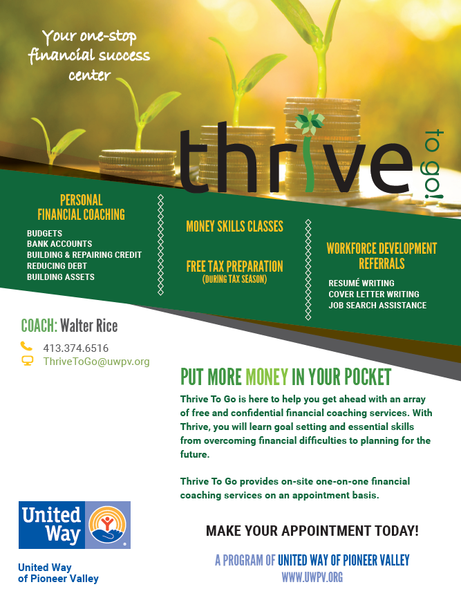 Thrive Pic Flyer
